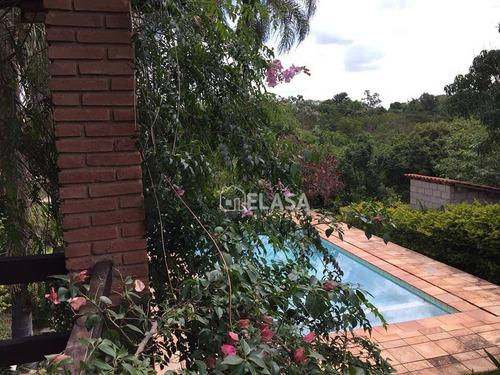 chácara residencial à venda, jardim monte belo, campinas. - ch0013