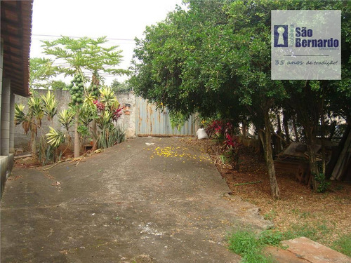 chácara residencial à venda, jardim santa madalena, sumaré. - ch0010