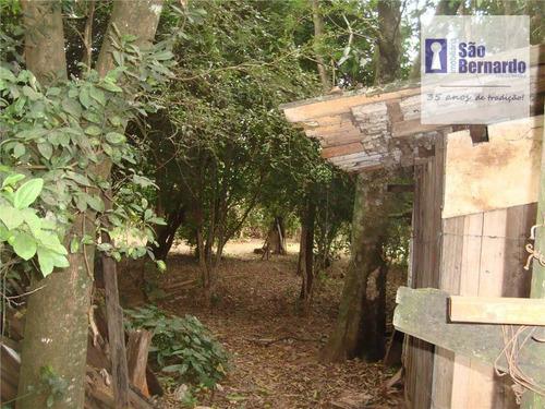 chácara residencial à venda, jardim santa madalena, sumaré. - ch0011