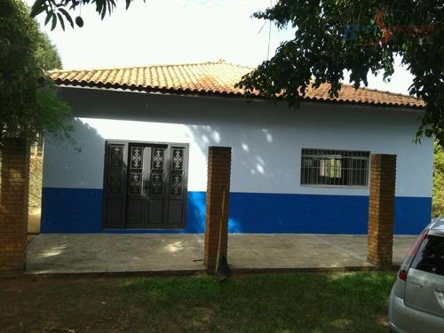 chácara residencial à venda, jardim são francisco, araras. - ch0010