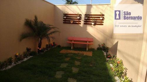chácara  residencial à venda, jardim são francisco, santa bárbara d'oeste. - ch0027