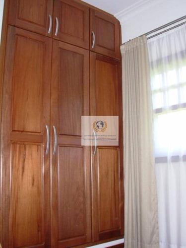 chácara residencial à venda, loteamento chácaras vale das garças, campinas. - ch0001