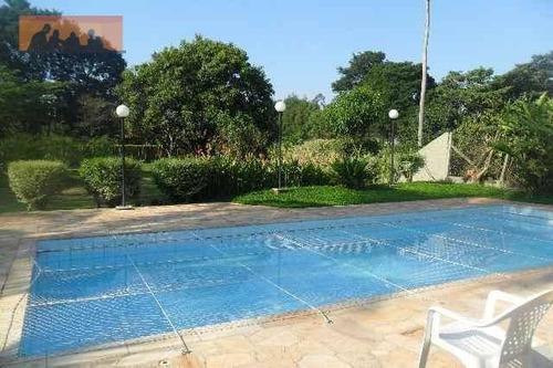 chácara residencial à venda, loteamento chácaras vale das garças, campinas - ch0003. - ch0003