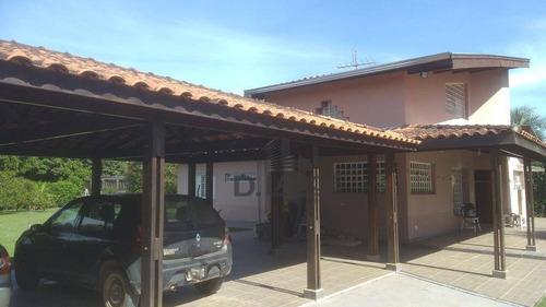 chácara residencial à venda, loteamento chácaras vale das garças, campinas. - ch0357