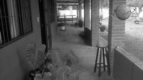 chácara residencial à venda, luíza mar mirim, itanhaém. - ch0008