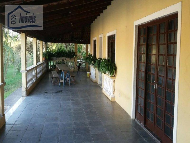 chácara residencial à venda, maracatu, guararema. - ch0008