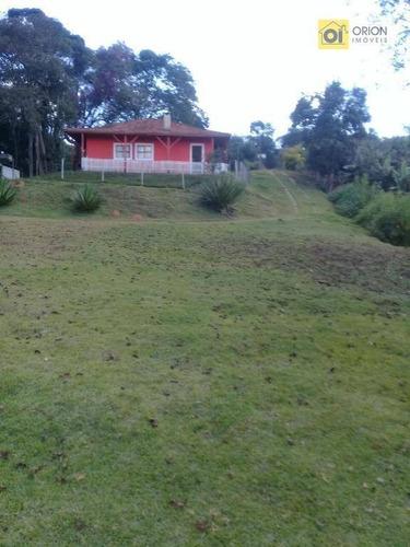 chácara residencial à venda, parque boa esperança, itapevi. - ch0042