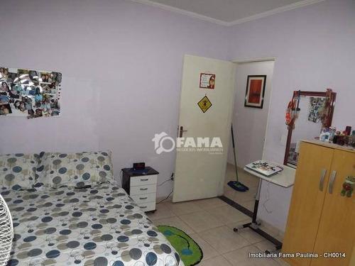 chácara residencial à venda, parque da represa, paulínia - ch0014. - ch0014