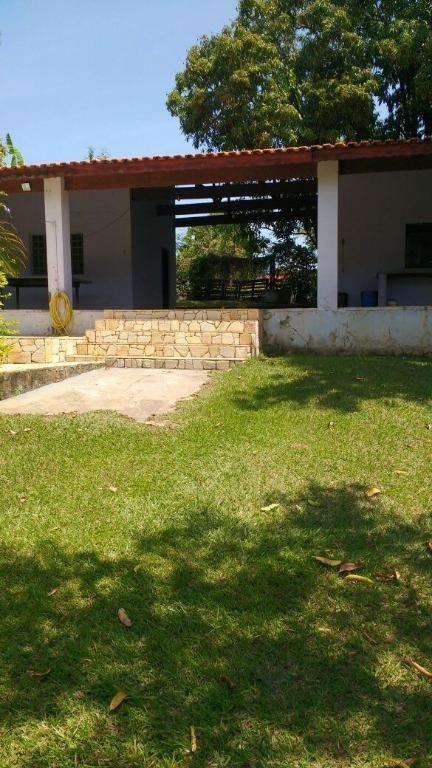 chácara residencial à venda, parque da represa, paulínia. - ch0092