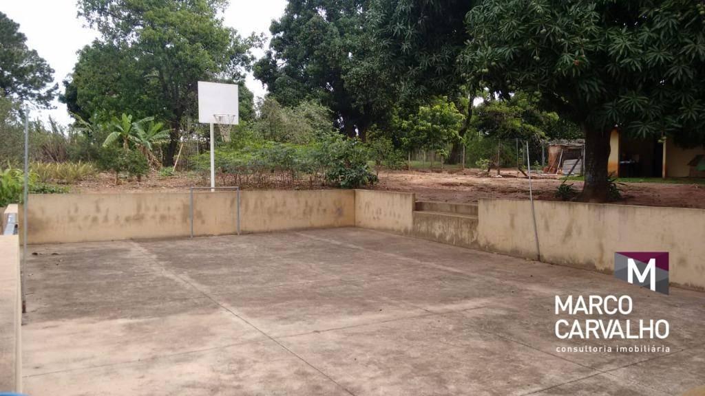 chácara residencial à venda, parque dos sabiás (padre nóbrega), marília. - ch0013
