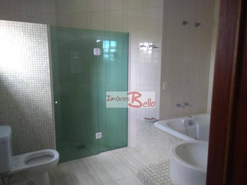 chácara residencial à venda, parque nova xampirra, itatiba. - ch0252