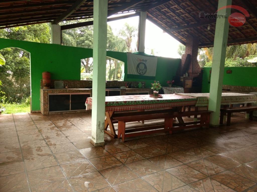 chácara residencial à venda, parque piratininga, itaquaquecetuba. - ch0002