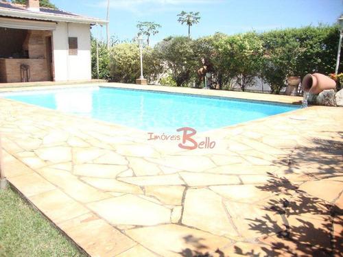 chácara residencial à venda, parque são gabriel, itatiba. - ch0236