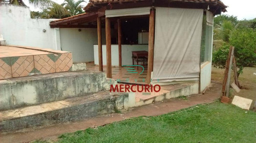 chácara residencial à venda, parque vale do tietê, bariri. - ch0122