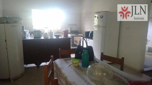 chácara residencial à venda, parque vergara, itanhaém. - ch0009