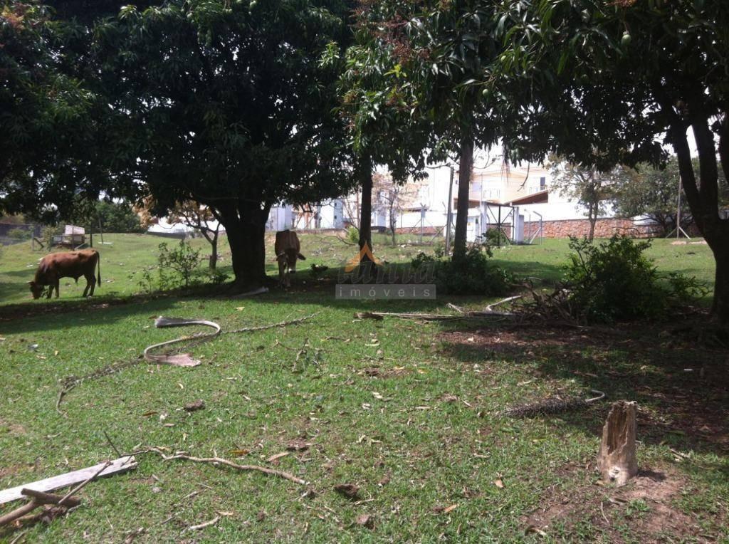 chácara residencial à venda, pinheirinho, itu. - ch0010