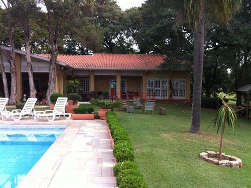 chácara residencial à venda, pinheirinho, itu. - ch0086