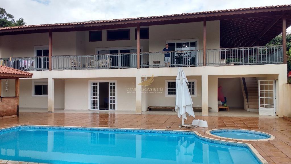 chácara residencial à venda, pinheirinho,condomínio monte, itu. - ch0031