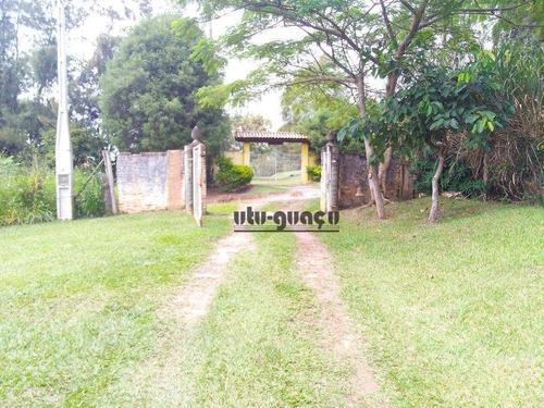 chácara residencial à venda, pirapitingui, itu. - ch0362
