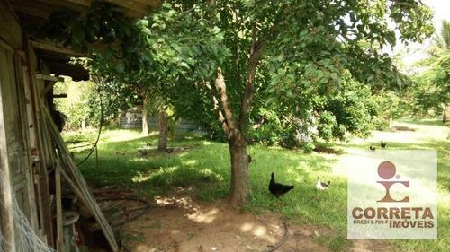 chácara residencial à venda, próximo ao country clube, marília. - ch0008