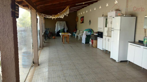 chácara residencial à venda, recanto campestre internacional de viracopos gleba 5, indaiatuba. - ch0014