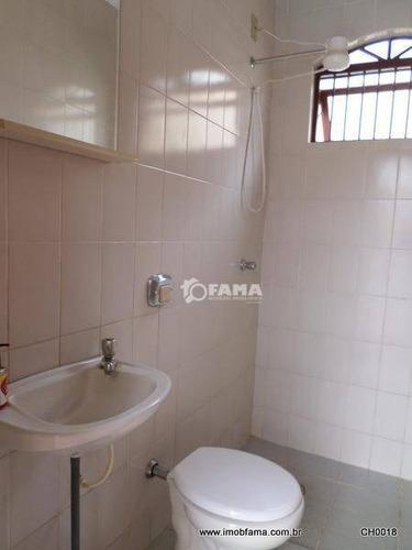 chácara residencial à venda, recanto das águas - ch0018. - ch0018