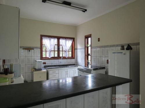 chácara residencial à venda, recanto dos pássaros, itatiba. - ch0233