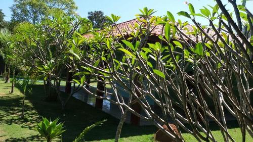 chácara residencial à venda, recanto ipanema do meio, araçoiaba da serra. - ch0255