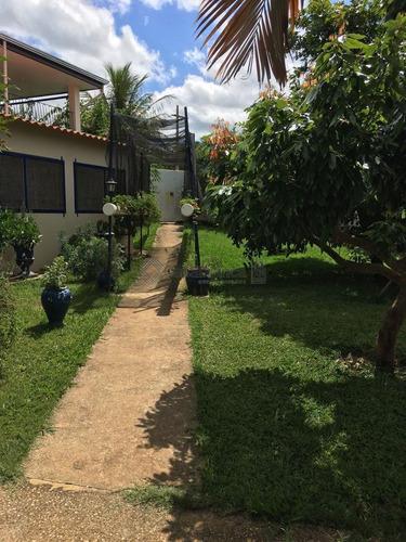 chácara residencial à venda, recanto ipanema do meio, araçoiaba da serra. - ch0311