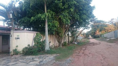 chácara residencial à venda, residencial alvorada, araçoiaba da serra. - ch0241