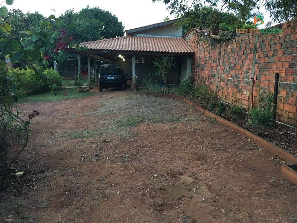chácara residencial à venda, residencial pomares, araçoiaba da serra. - ch0127