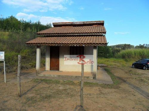 chácara residencial à venda, san martin, itatiba. - ch0228