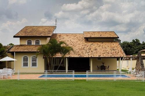 chácara residencial à venda, santa rita, piracicaba. - ch0092