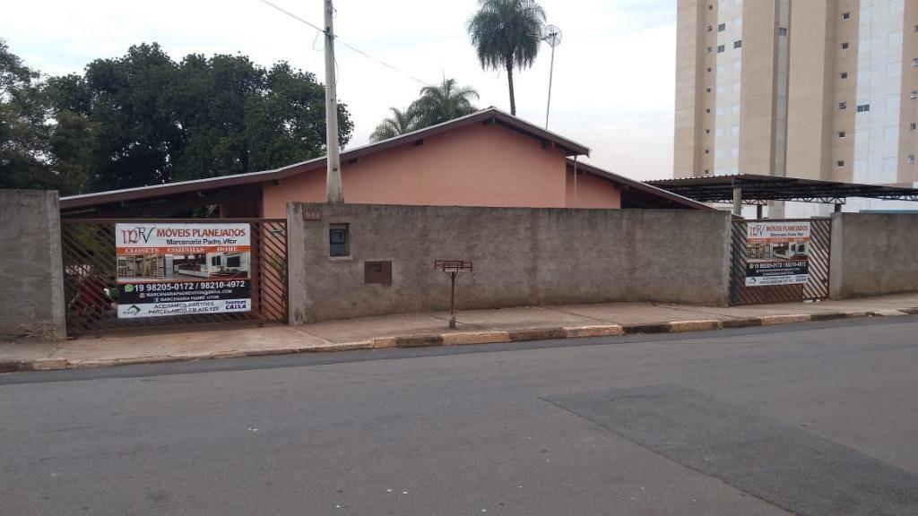 chácara residencial à venda, santa terezinha, paulínia. - ch0033