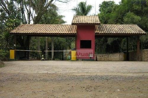 chácara residencial à venda, sousas, campinas. - ch0021