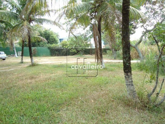 chácara residencial à venda, vale da figueira (ponta negra), maricá - ca1175. - ch0024