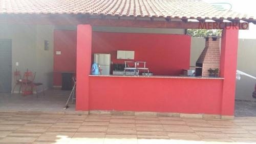 chácara residencial à venda, vale do igapó, bauru. - ch0048