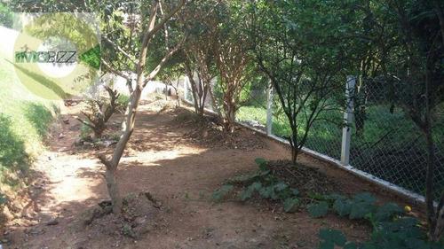 chácara residencial à venda, vale verde, valinhos. - ch0108