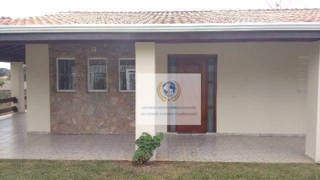 chácara  residencial à venda, village campinas, campinas. - ch0034