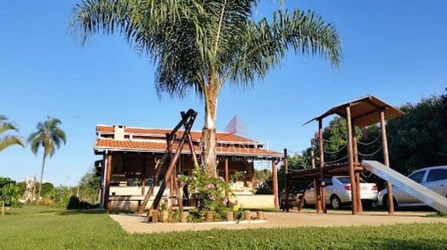 chácara residencial à venda, zona rural, arealva. - ch0037