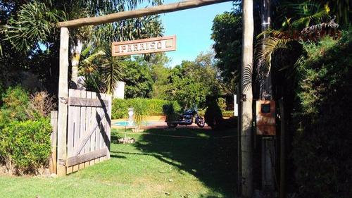 chácara residencial à venda, zona rural, arealva. - ch0095