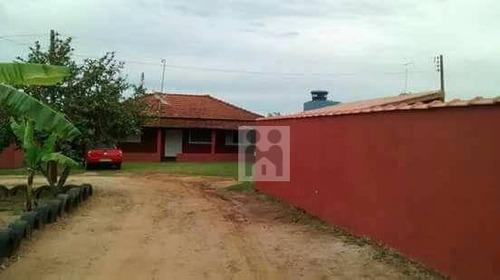chácara residencial à venda, zona rural, cajuru. - ch0006