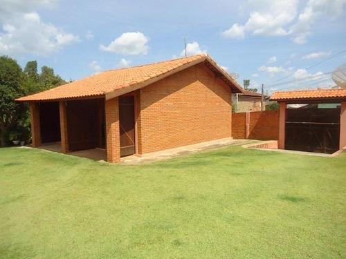 chácara residencial à venda, zona rural, conchas. - ch0104
