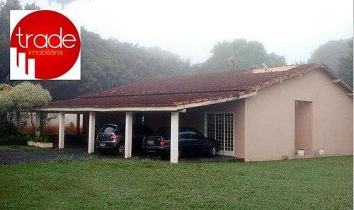chácara residencial à venda, zona rural, jardinópolis. - ch0042
