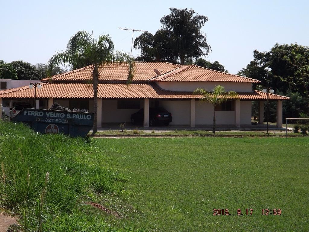 chácara  residencial à venda, zona rural, mirassol. - ch0123