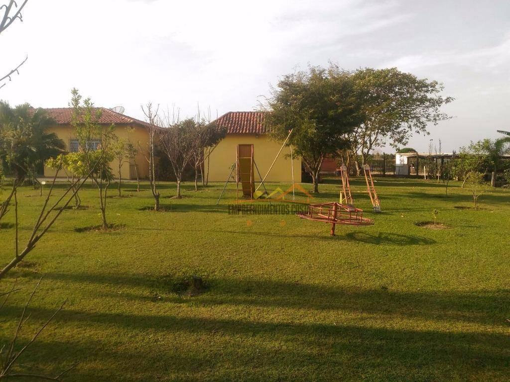chácara residencial à venda, zona rural, porto feliz. - ch0059