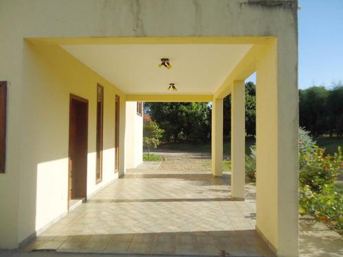chácara residencial à venda, zona rural, santa maria da serra. - ch0042