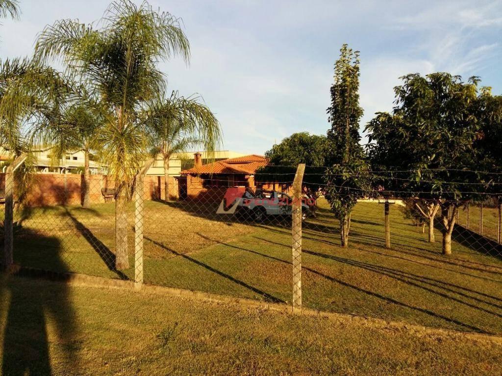 chácara residencial à venda, zona rural, santa maria da serra. - ch0073