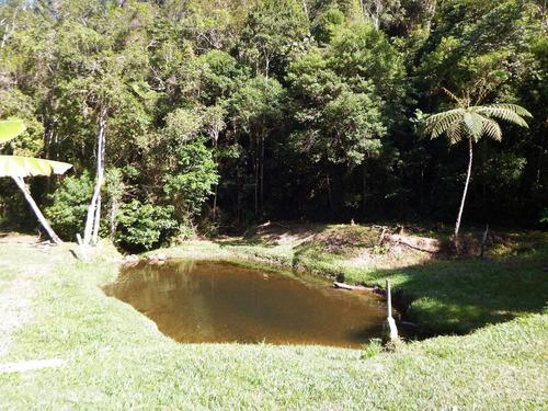 chácara rico em água em juquitiba bem localizado
