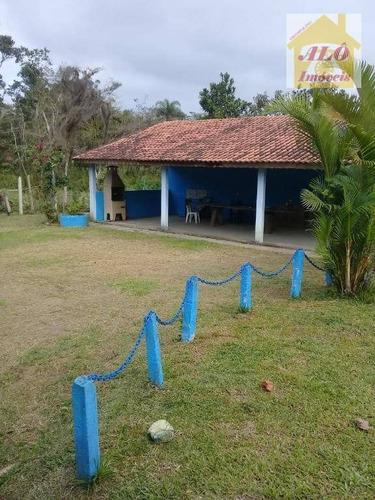 chácara rural à venda, centro, miracatu. - ch0011